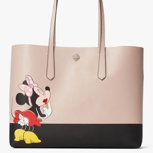 Kate Spade Minnie Mouse Large Tote New!